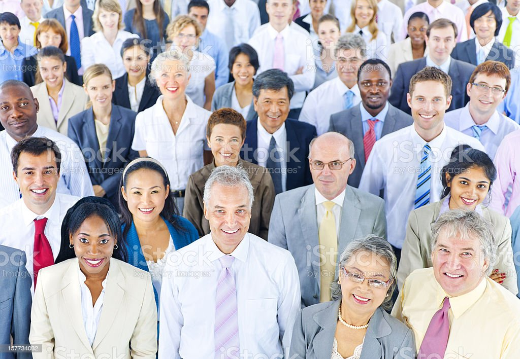 Multi Ethnic Business People royalty-free stock photo
