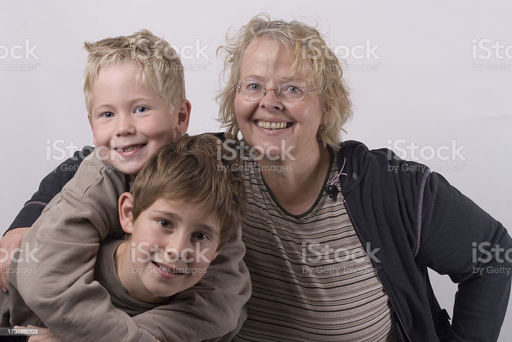 Multi generation royalty-free stock photo