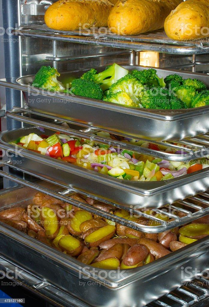multi layer multi purpose oven stock photo