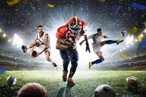 sports collage multi players istock similar