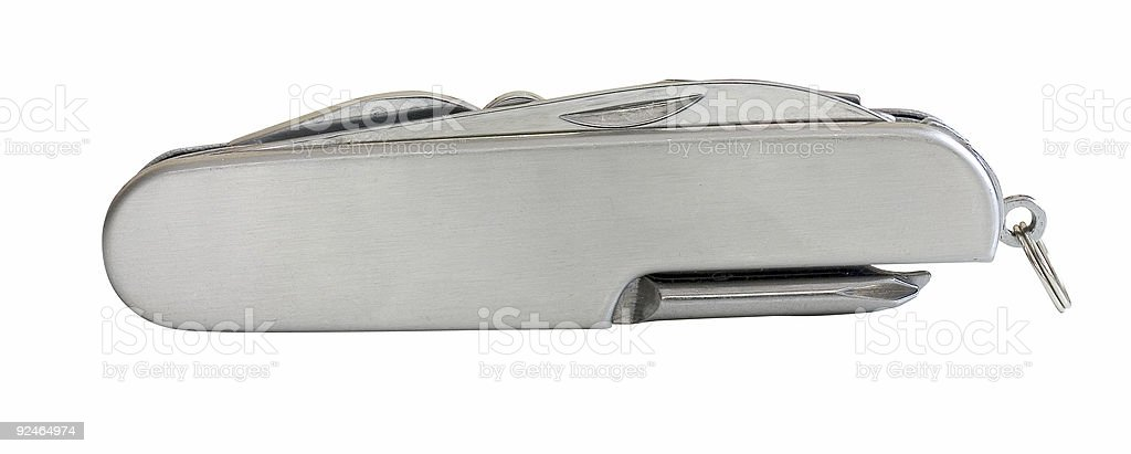 Multi tool knife stock photo