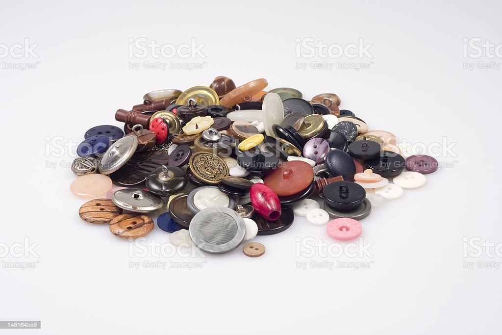 Multicolor Buttons royalty-free stock photo