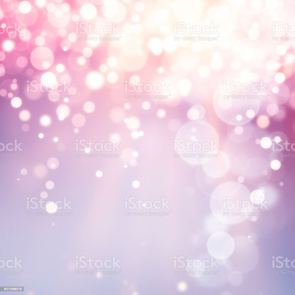 Multicolor christmas defocused lights background stock photo