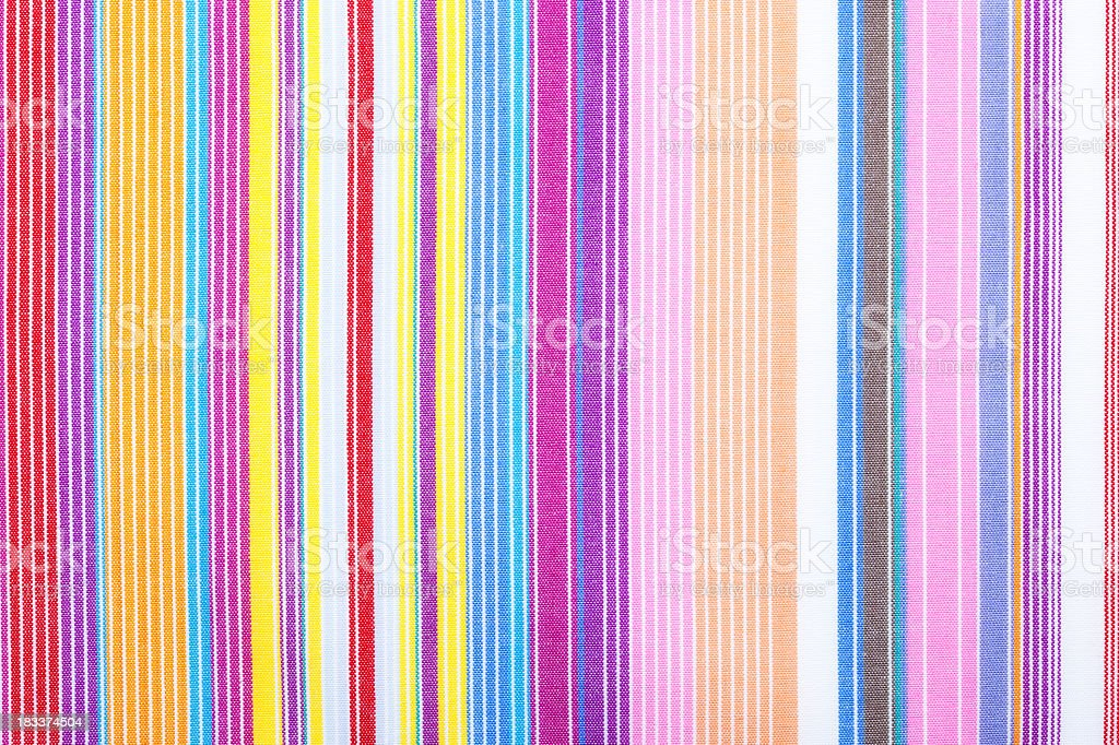 Multicolor cotton fabric royalty-free stock photo