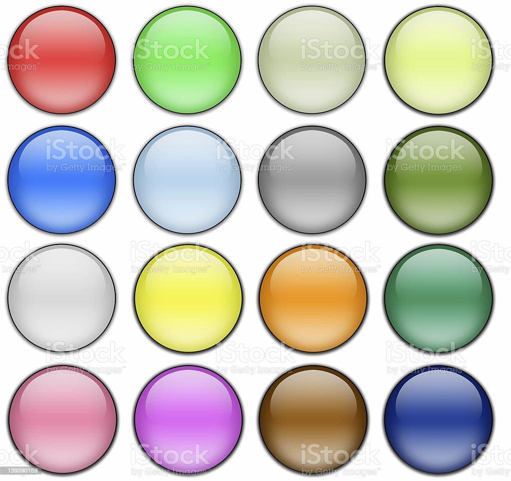 Multi-color Gel Spheres stock photo