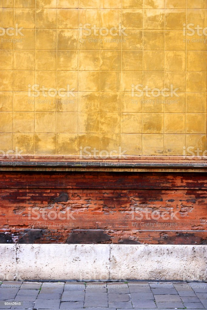 Multicolor italian architecture royalty-free stock photo