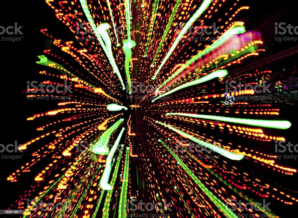 Multicolor light burst stock photo