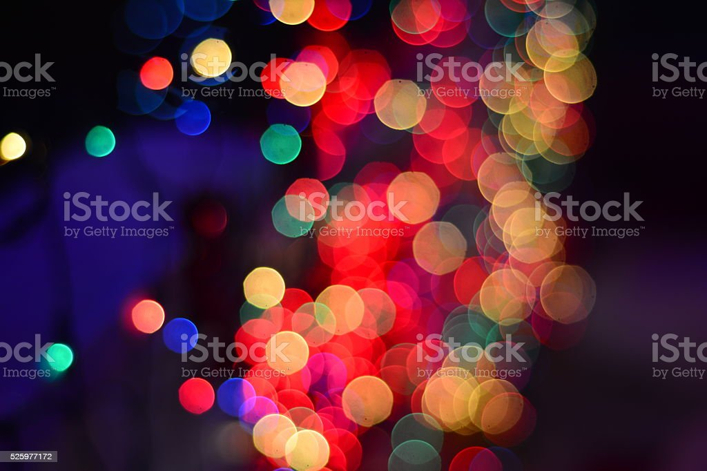 Multicolor lights stock photo
