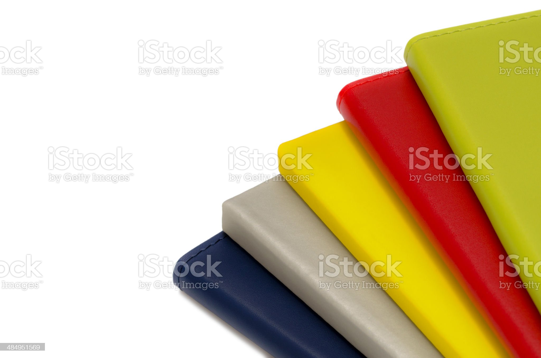 multicolor notepads royalty-free stock photo
