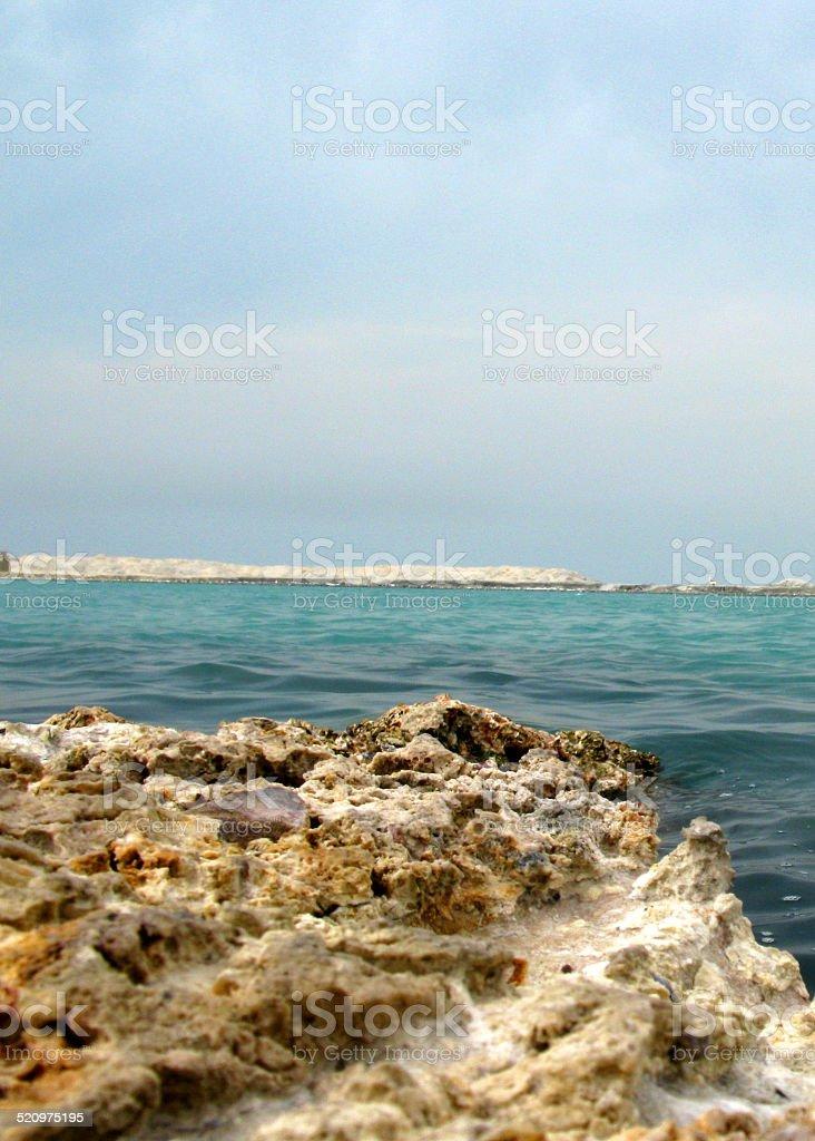 multicolor ocean stock photo