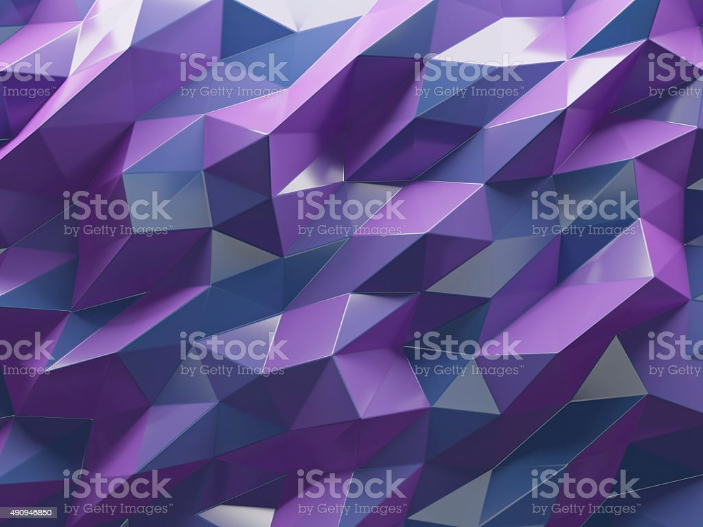multicolor polygon background blue pink stock photo