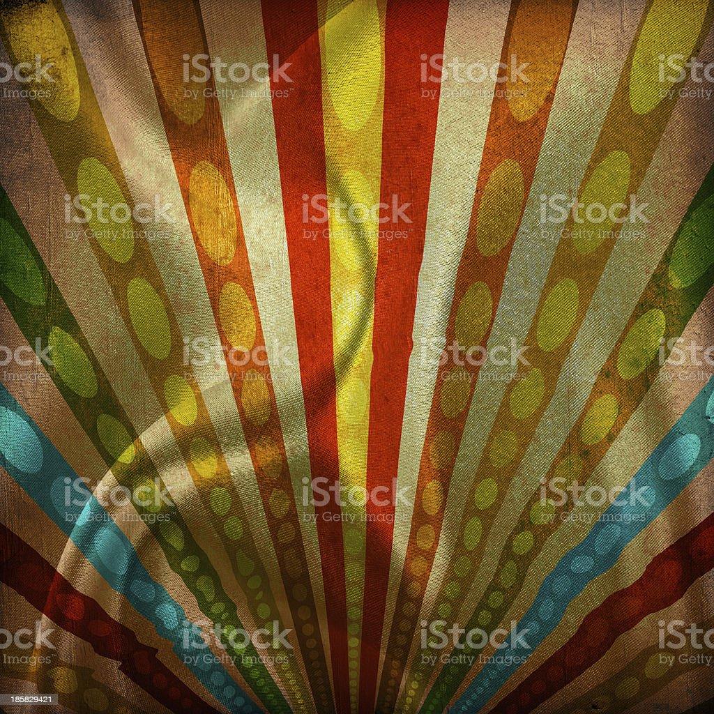 Multicolor Sunbeams grunge background royalty-free stock photo