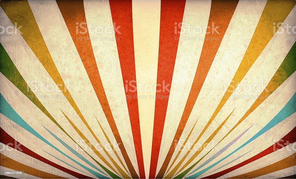 Multicolor Sunbeams grunge background stock photo