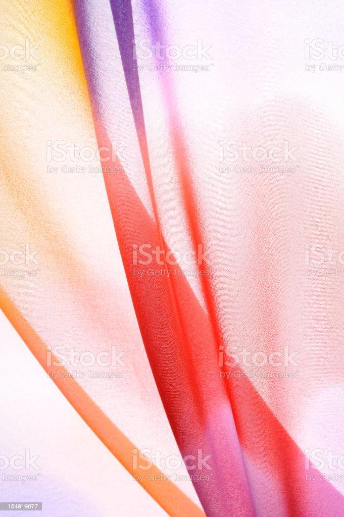 Multicolor wavy silk royalty-free stock photo