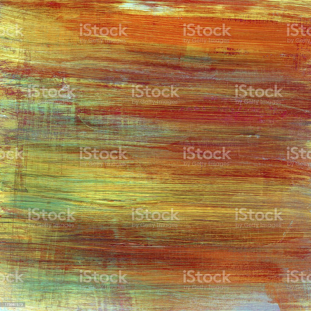 Multicolored Abstract Art royalty-free stock photo