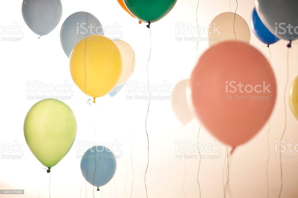 Bunte Ballons Lizenzfreies stock-foto
