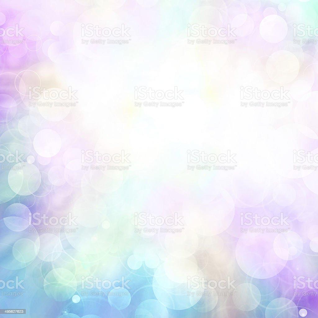 Multi-colored bokeh stock photo