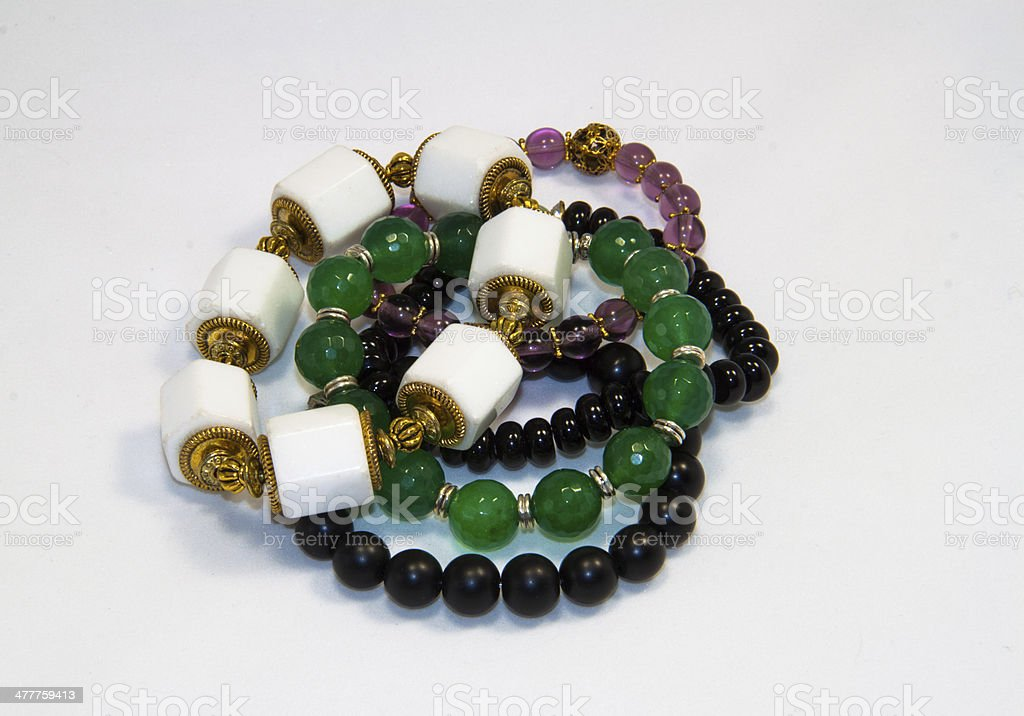 Multi-Colored  Bracelets stock photo