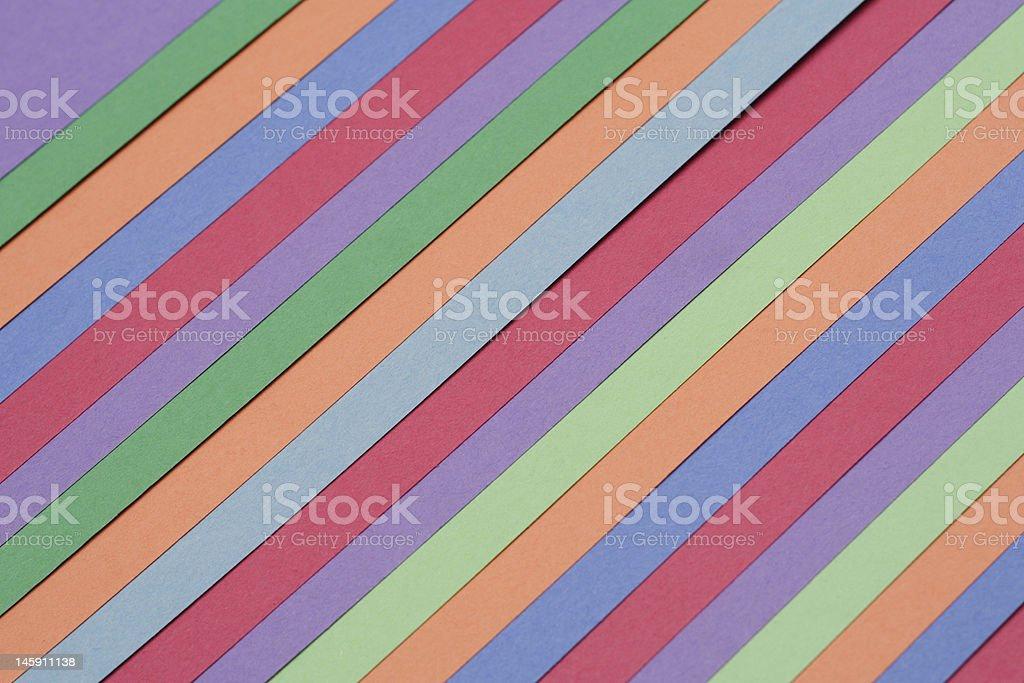 Multicolored Construction Sheets - Rainbow stock photo
