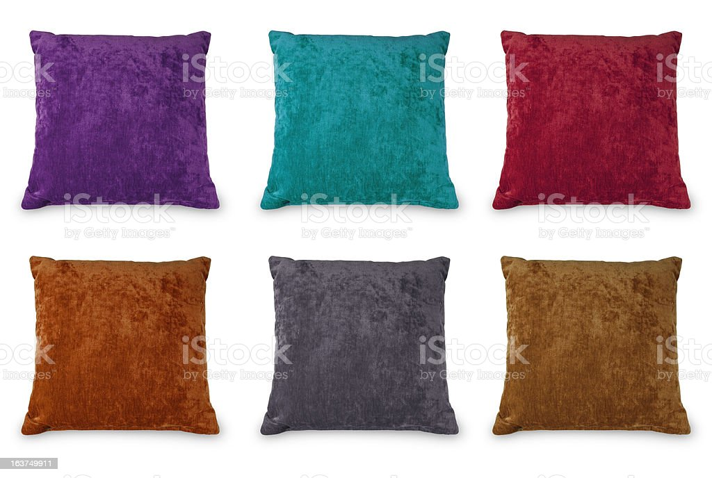Multicolored Cushion royalty-free stock photo