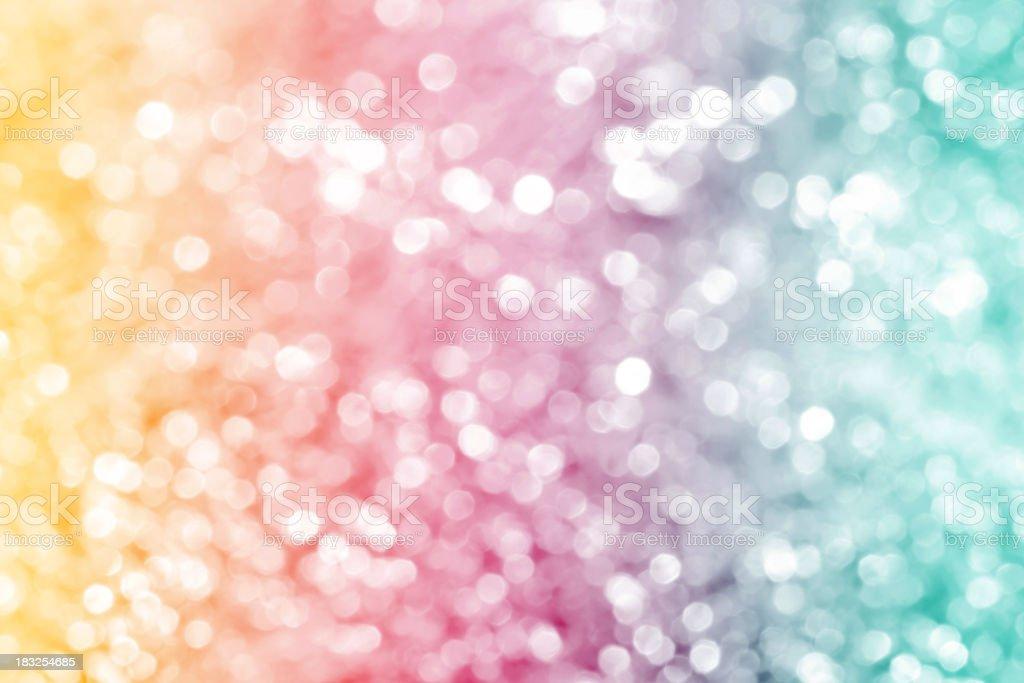 Multicolored defocused lights royalty-free stock photo