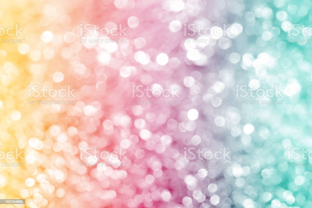 Multicolored defocused lights stock photo