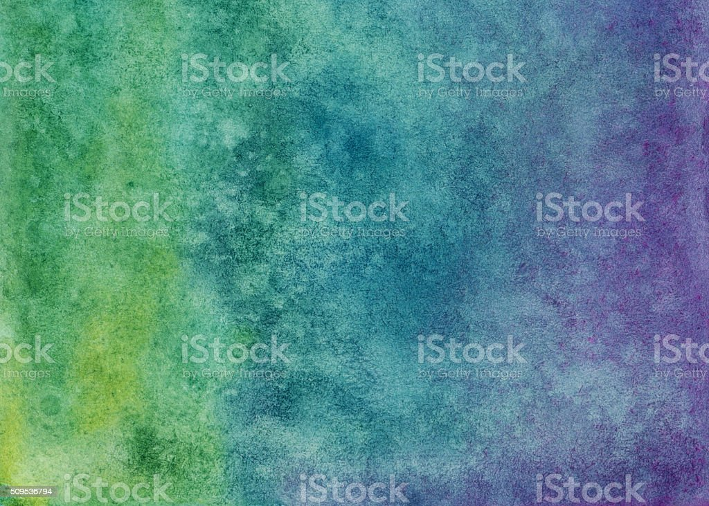Multi-colored gradient background with purple green and blue colors stock photo