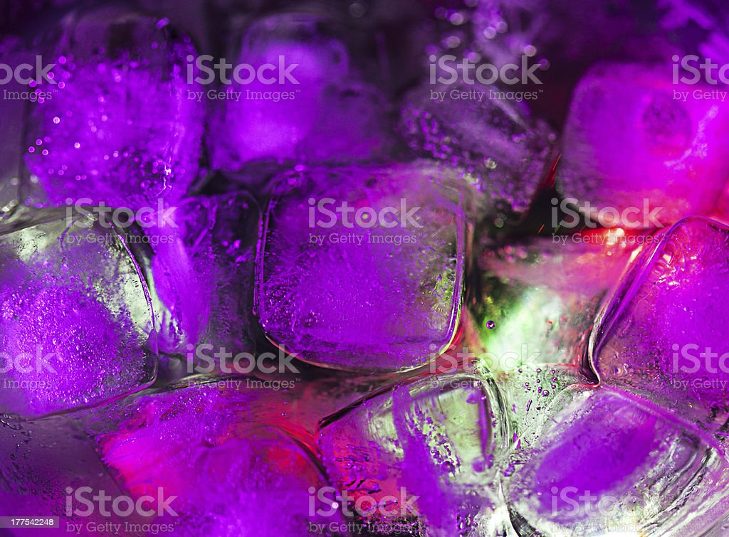 Multicolored ice royalty-free stock photo