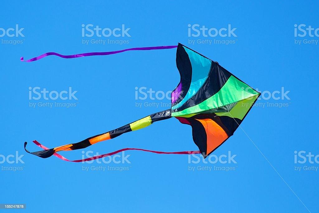Multi-Colored Kite stock photo