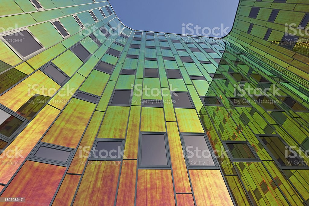 Multicolored office building # 10 royalty-free stock photo