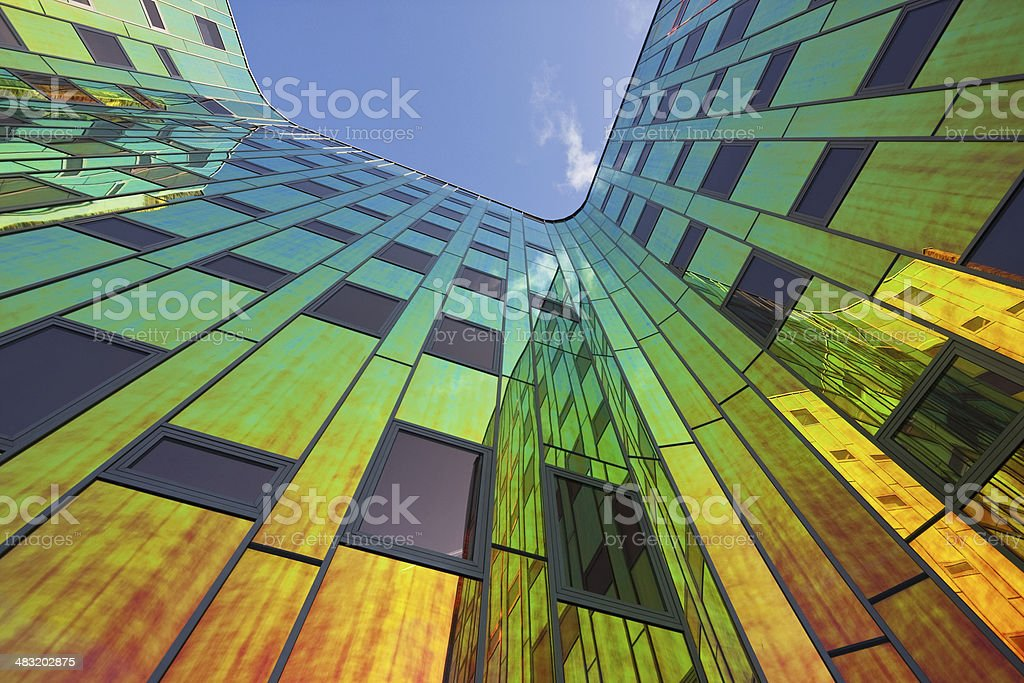 Multicolored office building # 6 XL stock photo