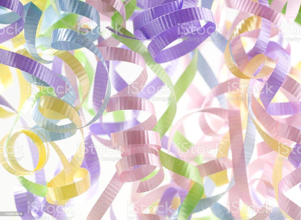 Fête multicolore et cotillons photo libre de droits