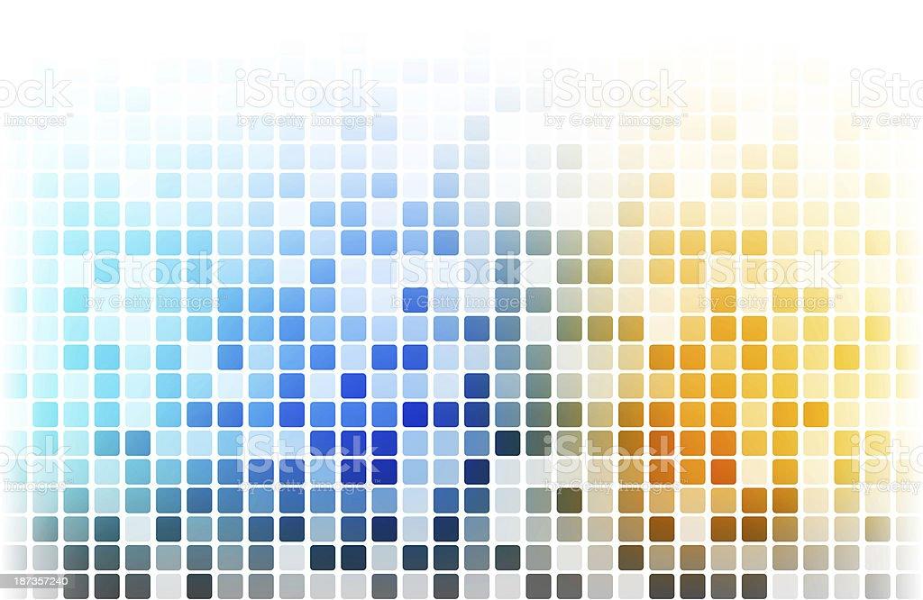 Multicolored pixels. stock photo