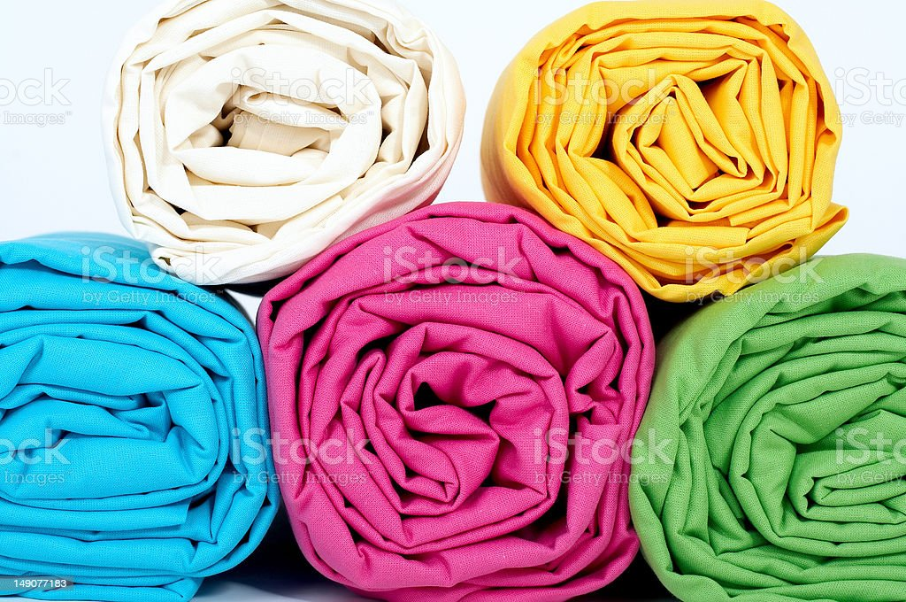 Multicolored sheets royalty-free stock photo