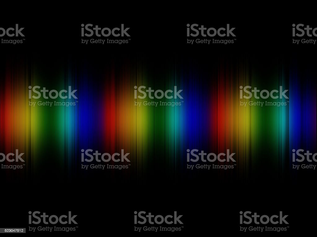 Multicolored Spectrum stock photo
