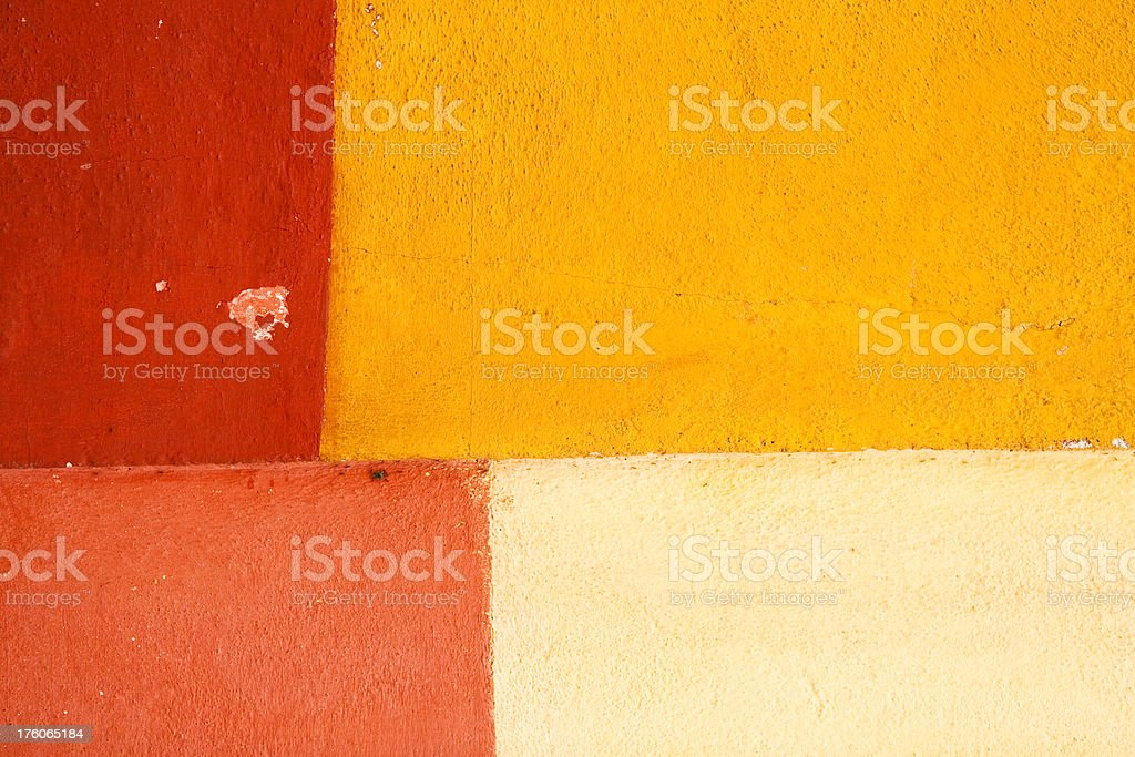 Multi-Colored Wall Texture royalty-free stock photo