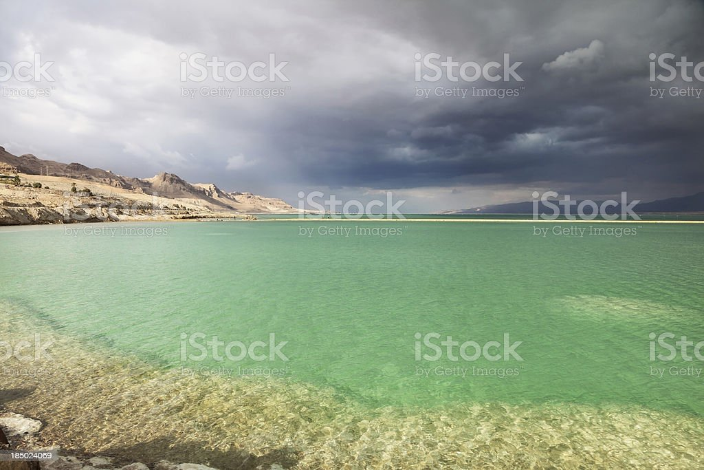 Multi-colored water royalty-free stock photo