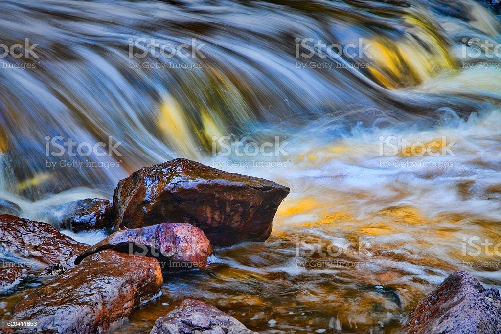 Multi-Colored Waterfall 2 stock photo