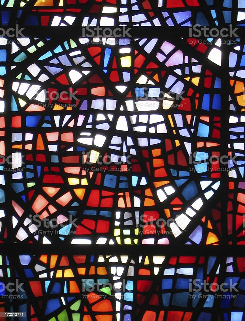 Multicolored Window, Abstract stock photo