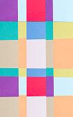 Multi-coloured background design