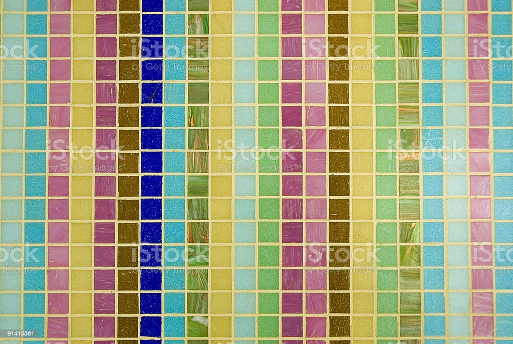 Multicoloured mosaic texture royalty-free stock photo