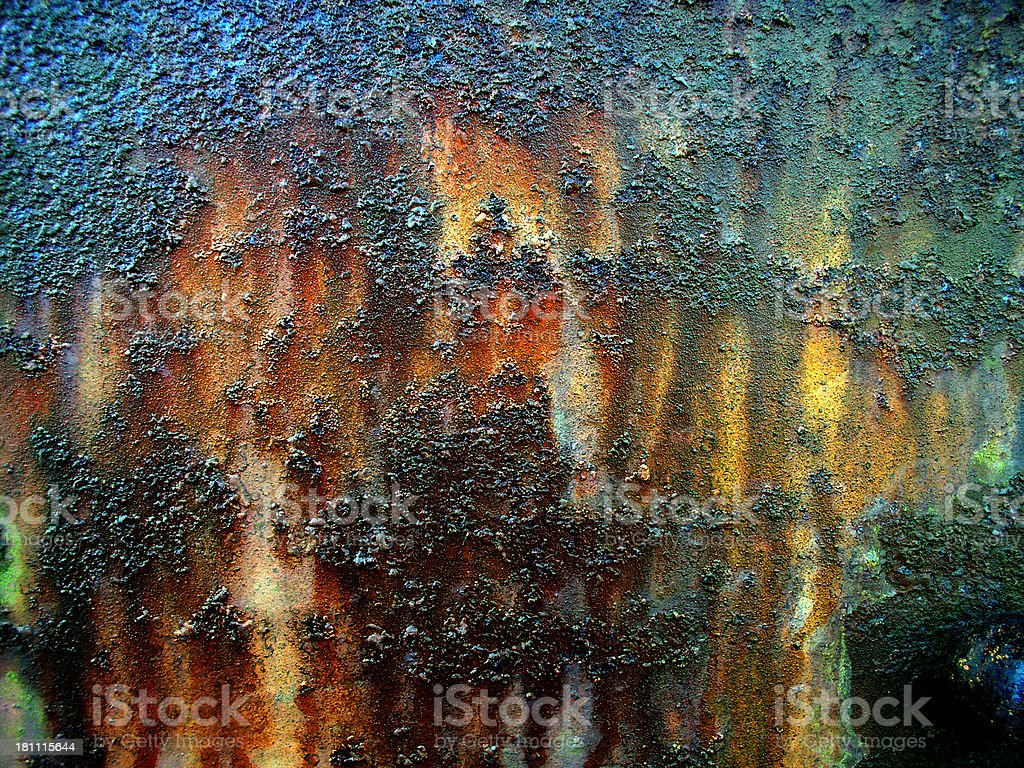 Multicored Rust royalty-free stock photo
