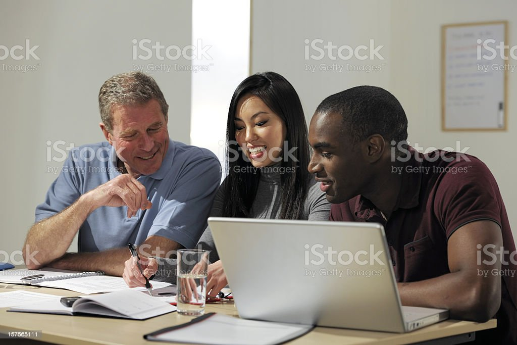 multicultural business team royalty-free stock photo