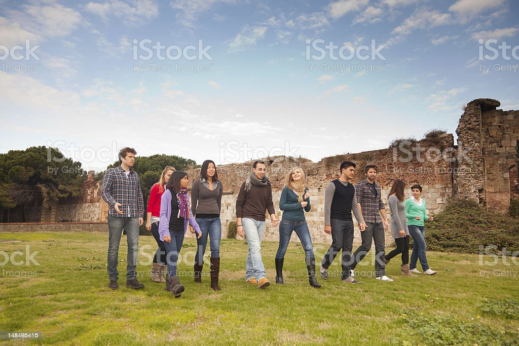 Multicultural Group of People royalty-free stock photo