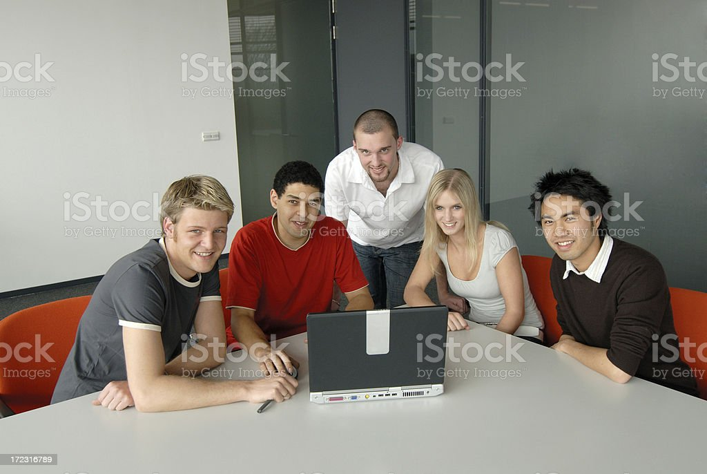 multicultural team royalty-free stock photo