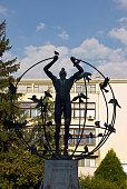 Multiculturalism statue