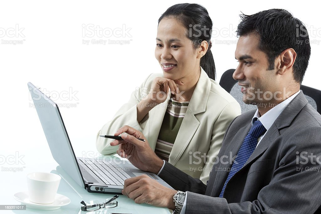 Multi-Ethnic Business Meeting royalty-free stock photo