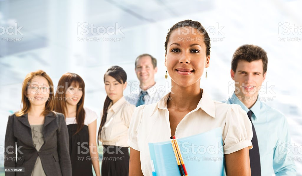 Multiethnic Business Team royalty-free stock photo