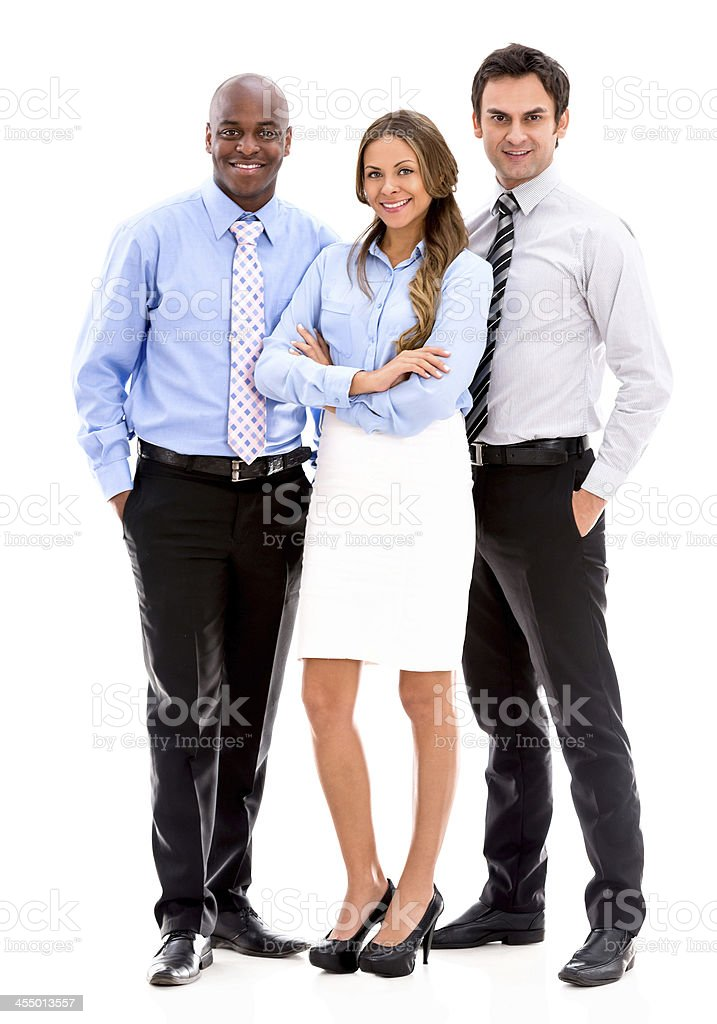 Multi-ethnic business team stock photo