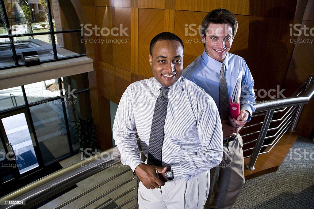 Multiétnico de empresarios foto de stock libre de derechos